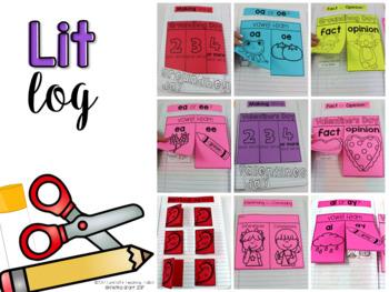 The Lit Kit February Second Grade