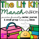 The Lit Kit March Second Grade