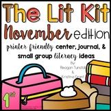 The Lit Kit November First Grade