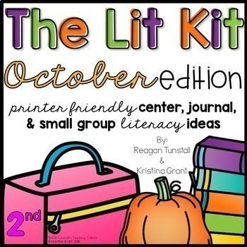 The Lit Kit Second Grade Bundle