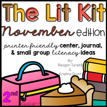 The Lit Kit November Second Grade