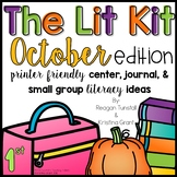 The Lit Kit October First Grade