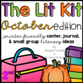 The Lit Kit October Second Grade