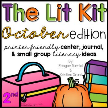 The Lit Kit October Second Grade