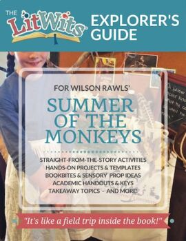 SUMMER OF THE MONKEYS - Reading Activities and Lesson Resources