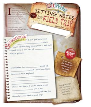 The LitWits Kit for THE SECRET GARDEN by Frances Hodgson Burnett