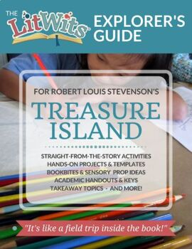 The LitWits Kit for TREASURE ISLAND by Robert Louis Stevenson