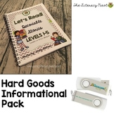 The Literacy Nest Hard Goods Informational Pack