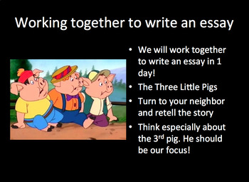 The Literary Essay - 6th Grade Writing Curriculum