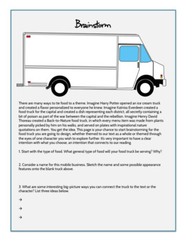 For any Novel: The Literary Food Truck