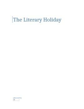 The Literary Holiday