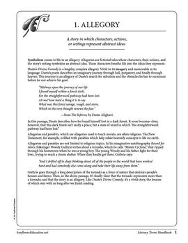 The Literary Terms Handbook: A Source of Definitions, Examples, and Exercises