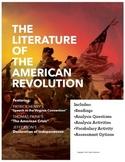 The Literature of the American Revolution