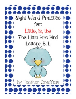 "The Little Blue Bird (Emergent Reader Book for ""Little"" ""T"
