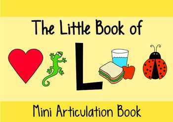 The Little Book of L | A Complete Resource For /l/ Articulation Therapy