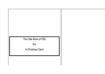 The Little Book of PEE - A Christmas Carol