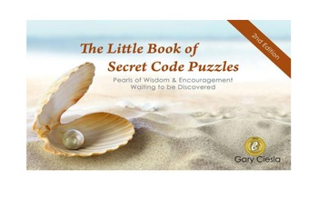 The Little Book of Secret Code Puzzles: Pearls of Wisdom & Encouragement...