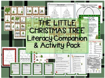 """The Little Christmas Tree"" Literacy Companion/Activity Pa"