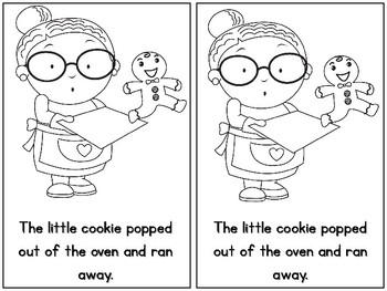 The Little Cookie Emergent Reader