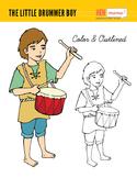 The Little Drummer Boy Clip Art (Hand Drawn)
