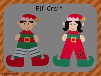 The Little Elf (A Christmas Craft)
