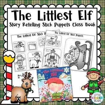 The Little Elf Christmas Stick Puppets & Class Book