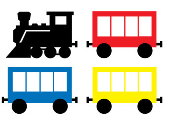 The Little Engine That Could - Colour Sorting Activity