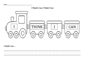 The Little Engine That Could: I Think I Can!