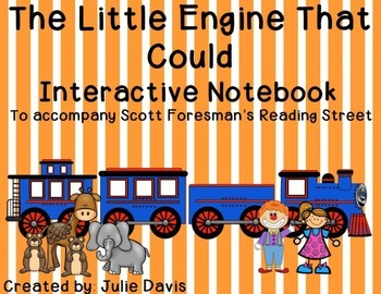 The Little Engine That Could Interactive Notebook Journal