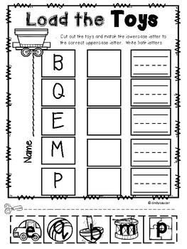 The Little Engine That Could, Kindergarten, Centers and Printables