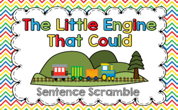The Little Engine That Could Sentence Scramble