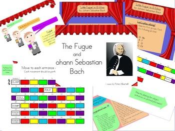 The Little Fugue of Johann Sebastian Bach