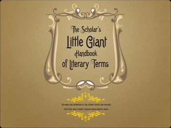 The Little Giant Book of Literary Terms - PDF