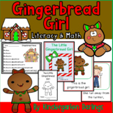 The Little Gingerbread Girl Emergent Reader: Literacy and Math Unit