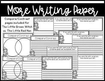 The Little Green Witch~ Craft and Writing