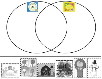 The Little House/Four Seasons Make a Year Venn