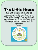 ReadyGen The Little House Vocabulary  Kindergarten Unit 2, Module A
