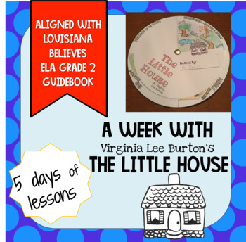 The Little House, a Week of Lessons and Vocabulary Slideshow