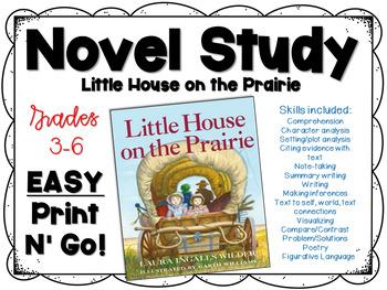 The Little House on the Prairie Novel Study