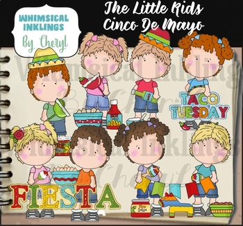 The Little Kids Cinco De Mayo Clipart Collection
