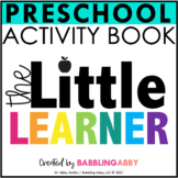 The Little Learner | Preschool Skills Workbook | Pre-K
