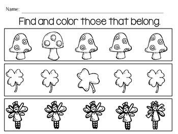 The Little Leprechaun Mini Math & Literacy Pack