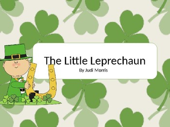 The Little Leprechaun a so mi song and game for ST. Patrick's Day