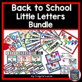 The Little Letters Welcome You Back to School Classroom Decorations BUNDLE