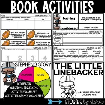 The Little Linebacker (Book Activities and Football Player Craft)
