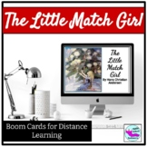 The Little Match Girl a Christmas Short Story Boom Cards f