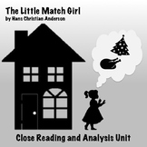 """The Little Match Girl"" Christmas Story: Close Reading and Analysis Unit"