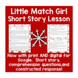 The Little Match Girl Reading Comprehension and Constructe