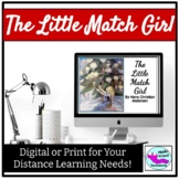 The Little Match Girl Short Story for Digital Learning and