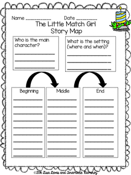 Little Match Girl~a One Week Unit for the story by Hans Christian Andersen
